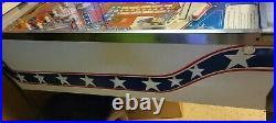 Evel knievel Pinball Home version Nice! Will ship! Read description