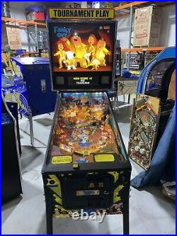 Family Guy Pinball Machine Free Shipping Stern LEDs ColorDMD