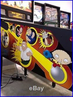 Family Guy Pinball Machine by Stern