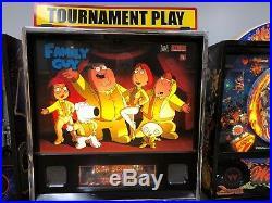 Family Guy Pinball machine LEDS NICE ORIGINAL HOME USE ONLY PIN 2007