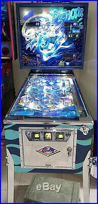 Fathom Pinball Machine Restored Coin Op Bally 1981 Free Shipping
