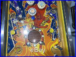 Fireball Pinball Machine Coin Op Bally 1972 Free Shipping