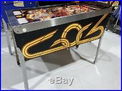 Firepower Pinball Machine Williams Coin Op Arcade 1980 Free Shipping