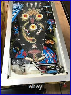 Fischer Skyhawk & Brunswick Super Star Home Version Pinball Parts Machines