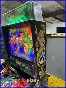 Fish Tales Pinball Machine Williams Free Shipping LEDS