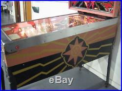 Flash Gordon Pinball Machine Bally 1980 Original Good Condition Mancave