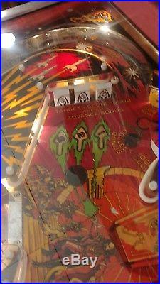 Flash Gordon pinball machine