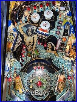 Flash Pinball Machine Williams Coin Op Arcade 1979 Free Shipping