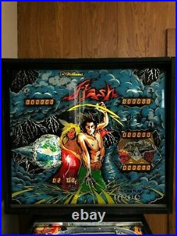 Flash is a 1979 pinball game designed by Steve Ritchie and released by Williams