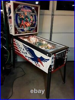 Freedom Pinball Machine By Bally