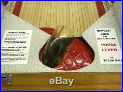 Fully Restored Collectible Bally All Star Deluxe Bowler arcade game