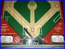 Fully Restored Custom Vintage Williams 57 Deluxe Baseball arcade game