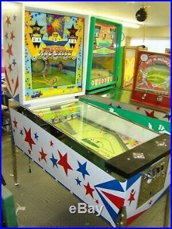 Fully Restored Vintage Williams Line Drive Baseball arcade game