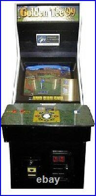 GOLDEN TEE 99 ARCADE MACHINE (Excellent Condition)