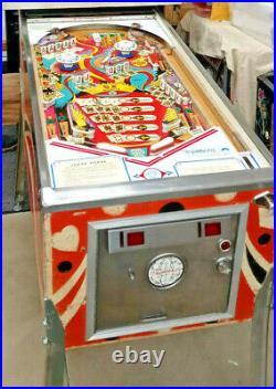 GOTTLIEB PINBALL MACHINE JOKER POKER BEAUTIFULLY Restored FREE SHIPPING