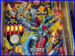 Genie Pinball Machine Gottlieb 1979 Arcade Free Shipping