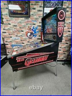 Getaway pinball machine