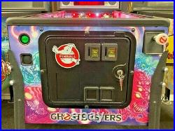 Ghost Busters Gold Pinball Home Used Only MINT & Upgraded