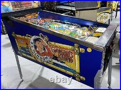 Gilligans Island Pinball Machine Bally Arcade LEDs Free Shipping