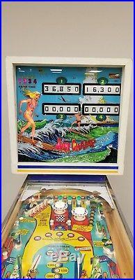 Gottlieb 1976 Surf Champ Pinball