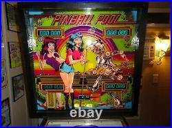 Gottlieb 1979 Pinball Pool Pinball Machine