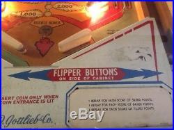 Gottlieb Big Brave Pinball Machine 1974