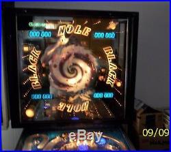Gottlieb Black Hole Pinball