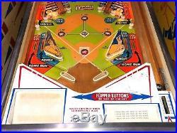 Gottlieb Classic Wedgehead Baseball Pinball Machine 1970