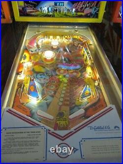 Gottlieb Close Encounters pinball machine, full restoration