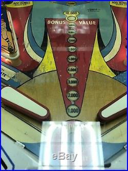 Gottlieb DUOTRON Pinball Machine, 1974 Works Great