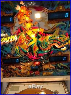 Gottlieb Dragon Pinball