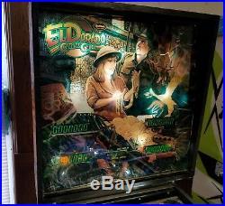 Gottlieb El Dorado City of Gold Pinball Machine Shopped and Working