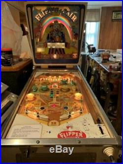 Gottlieb Flipper Fair Pinball Machine 1961 Working