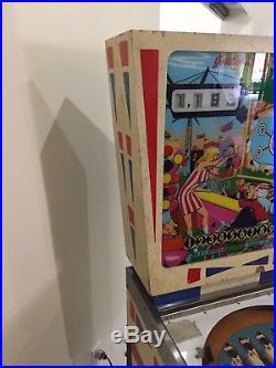 Gottlieb Fun Park Add-A-Ball Wedge head Pinball Arcade Machine Very Nice