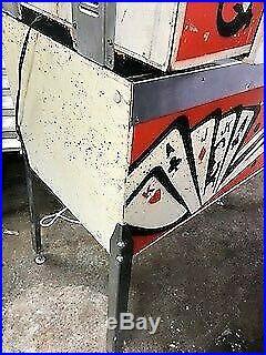 Gottlieb Joker Poker Pin Ball Machine