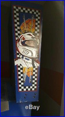 Gottlieb Mario Andretti Pinball Arcade Machine