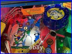 Gottlieb Nintendo Super Mario Bros Pinball Machine Leds 1992