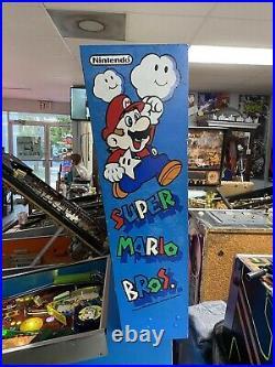 Gottlieb Nintendo Super Mario Bros Pinball Machine Nice Leds 1992