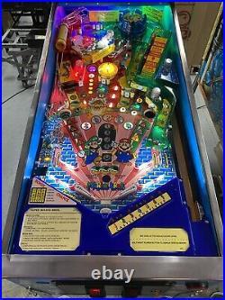 Gottlieb Nintendo Super Mario Bros Pinball Machine Super Nice Leds 1992