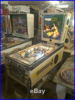 Gottlieb Road Race pinball machine 1969, Located in Michigan