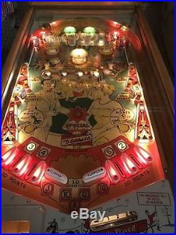 Gottlieb Spot-A-Card Wood Rail EM Electro Mechanical Arcade Pinball Machine