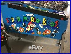 Gottlieb Super Mario Bros Pinball Machine Leds Nice Nintendo