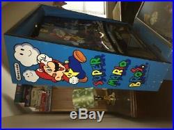 Gottlieb Super Mario Brothers Pinball Machine Rare And Fun Leds 1992