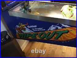 Gottlieb Wipeout Pinball