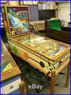 Ground Up Restored Vintage Gottlieb Niagara Woodrail Pinball Machine