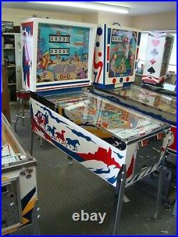 Ground Up Restored Vintage Gottlieb Quick Draw Pinball Machine