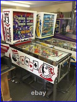 Ground Up Restored Vintage Gottlieb Royal Flush Pinball Machine