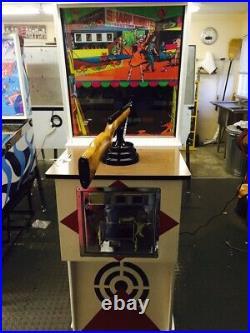 Ground up Classic Restored Chicago Coins Sharpshooter Vintage Arcade Gun Game