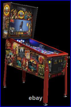 Guns N' Roses (LE) Pinball Machine. Jersey Jack. South Florida