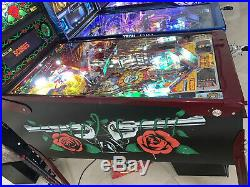 Guns N Roses Pinball Machine By Data East Free Shipping